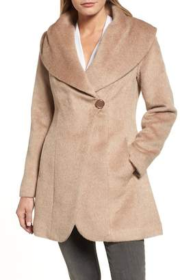 Trina Turk Jemma Shawl Collar Coat