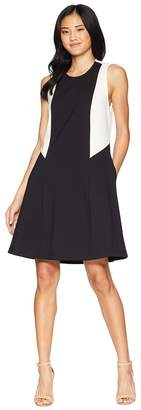Juicy Couture Color Block Ponte Dress Women's Dress