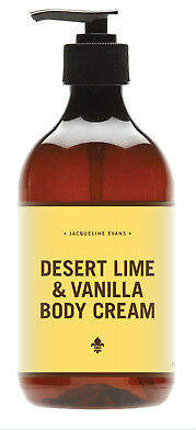 Evans NEW Desert lime & vanilla body cream Women's by Jacqueline Skin Care