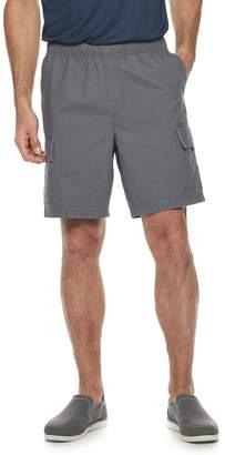 Croft & Barrow Men's Classic-Fit Elastic-Waistband 8.5-inch Cargo Shorts
