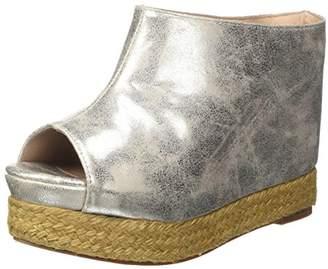 Jeffrey Campbell Women JCSVIRGOMET/Pewter High Heels Silver Size: