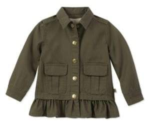 Kate Spade Little Girl's Cotton Twill Field Jacket