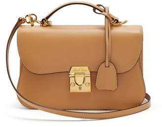 Mark Cross Dorothy leather shoulder bag