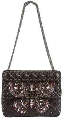 Valentino Butterfly Medium Rockstud Spike Shoulder Bag