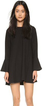 WAYF Flutter Sleeve Dress $88 thestylecure.com