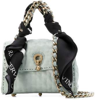 Ermanno Scervino faubourg bag with scarf and chain