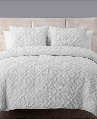 Vcny Home Artemis 3-Pc. Quilted King Down-Alternative Comforter Set Bedding