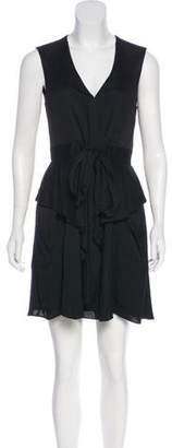 L'Agence Sleeveless Mini Dress