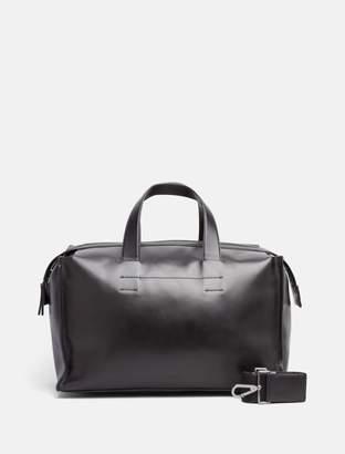 Calvin Klein leather medium duffle bag