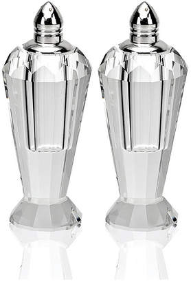 Badash Crystal Preston Silver Salt & Pepper Shaker Pair
