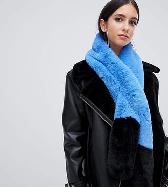 Missguided color block stole in multi