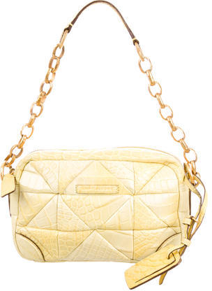 Marc JacobsMarc Jacobs Embossed Leather Shoulder Bag