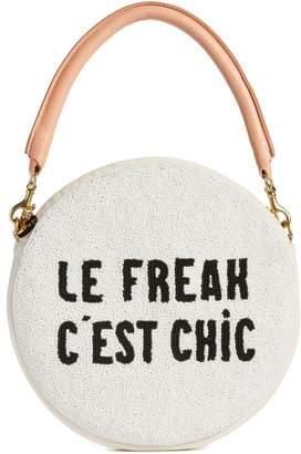 Clare Vivier Le Freak Beaded Circle Clutch