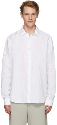Hope White Linen Air Clean Shirt