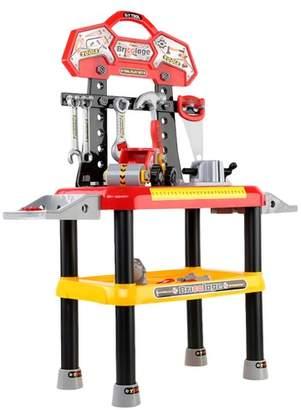 Red Keezi Kids Workbench Play Set