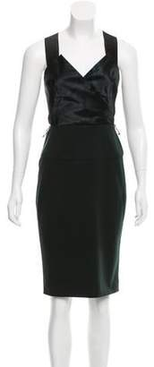 Donna Karan Sleeveless Knee-Length Dress