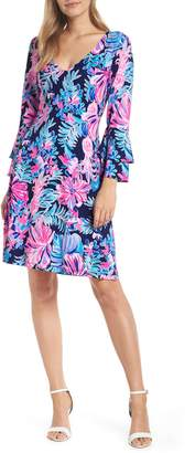 Lilly Pulitzer R) Raina Fit & Flare Dress