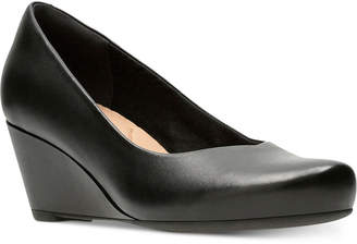 6423d0ab32bf Clarks Collection Women s Flores Tulip Wedge Pumps