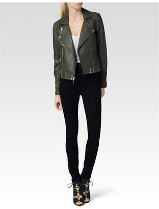 Paige Roanna Jacket - Army Leather