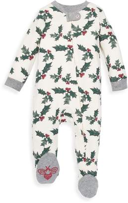 Burt's Bees Happy Holly Organic Sleep & Play Pajamas
