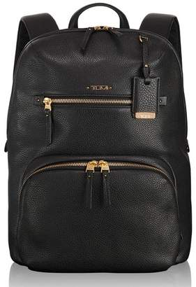 Tumi Voyageur Halle Leather Backpack