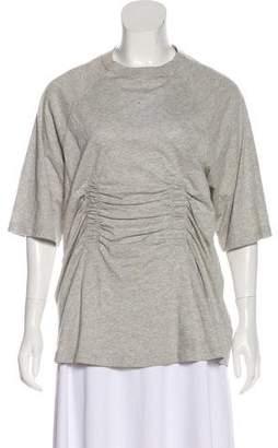 Tibi Layered Short Sleeve Top