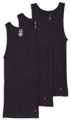 Polo Ralph Lauren 3 Pack Ribbed Tank