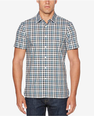 Perry Ellis Men's Plaid Shirt