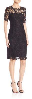 Elie Tahari Crochet Lace Bellamy Dress $498 thestylecure.com