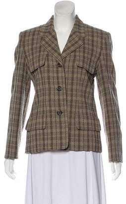 Burberry Vintage Wool Blazer