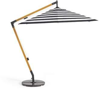 Pottery Barn Premium Sunbrella®; Wooden Cantilever Umbrella – Stripe