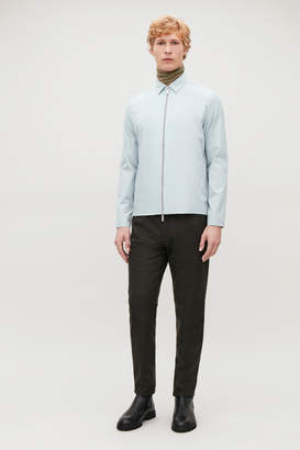 Cos ZIP-UP LONG-SLEEVED SHIRT