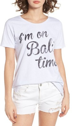 Women's O'Neill Bali Time Graphic Tee $28 thestylecure.com