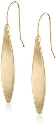"Kenneth Cole New York Gilded Lapis"" Sculptural Stick Linear Drop Earrings"