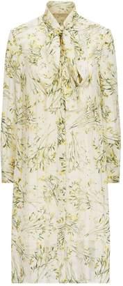 Burberry Floral Silk Dress