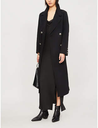 The Kooples Double-breasted wool coat