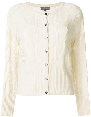 N.Peal cashmere cable cardigan