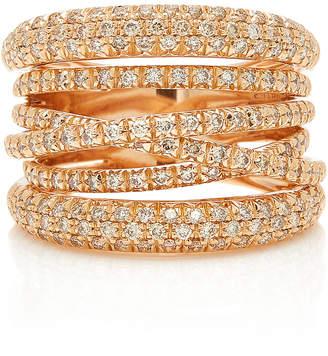 Sidney Garber Scribble Rose Gold Ring