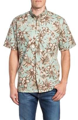 Reyn Spooner Onishi Garden Regular Fit Sport Shirt