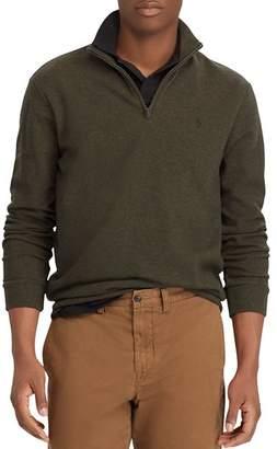Polo Ralph Lauren Double-Knit Half-Zip Pullover Sweater