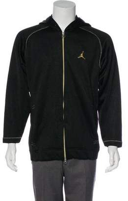 Jordan Hooded Metallic Jacket