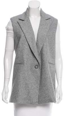 ATEA OCEANIE Wool Oversize Vest