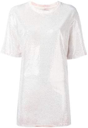Faith Connexion embellished oversized T-shirt