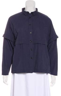 Henrik Vibskov Short Sleeve Button-Up Blouse