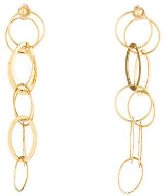 Carolina Bucci 18K Chain Hoop Earrings