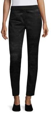 Eileen Fisher Jacquard Slim Trousers