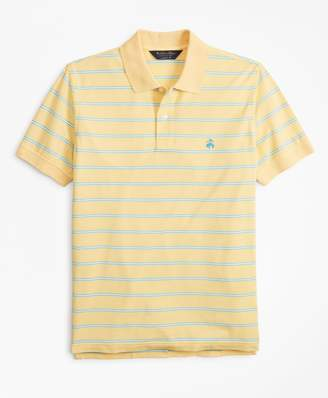 Brooks Brothers Original Fit Thin Stripe Polo Shirt
