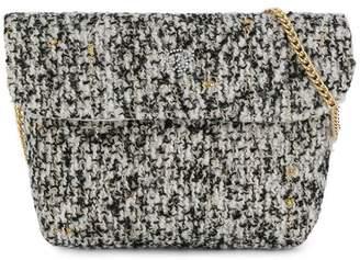 Miss Blumarine metallic flecked shoulder bag