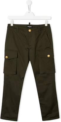 DSQUARED2 classic cargo trousers