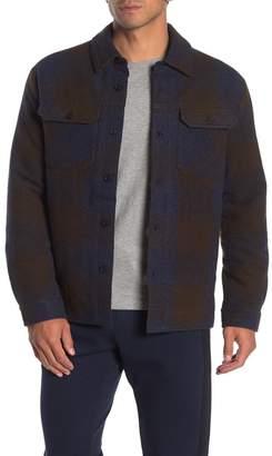 Velvet by Graham & Spencer Plaid Faux Shearling Lined Shirt Jacket